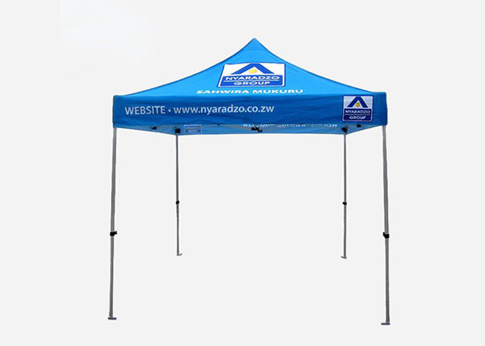 Custom Folding Event Tent Steel / Aluminum Frame For Outdoor Exhibition